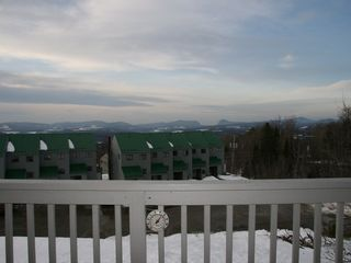 Burke condo photo - View of willoughby gap from the deck