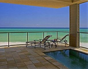 Inlet Beach house photo - Lay out of the patio, swim, views. You feel like you are on a cruise ship