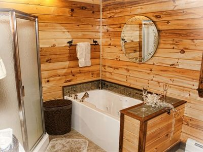 Spacious Custom Whirlpool Tub