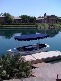 Rancho Mirage house rental - Electra Craft party boat included in your lease