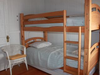 Old Lyme cottage photo - Bedroom with Twin Bunks Plus Trundle