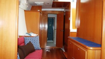 Master Cabin View from Berth