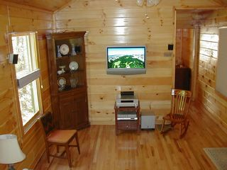 Bryson City cabin photo - HDTV and Surround