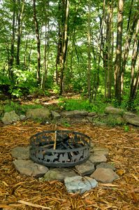 Memories and plenty of stories are created here around the campfire