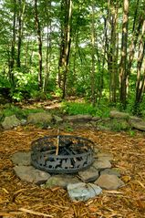 Seven Springs house photo - Memories and plenty of stories are created here around the campfire