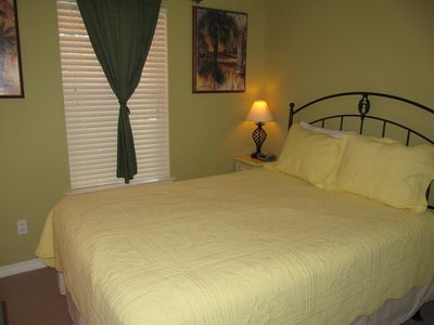 Main Floor Bedroom with a Queen Bed
