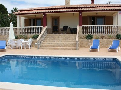 Carvoeiro villa rental - The villa with private pool