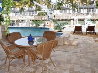 Duck Key house photo - Porch Area Next to Pool