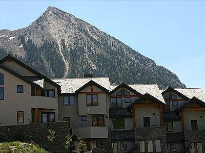 Silver Ridge Townhomes with Mt. CB behind