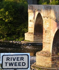 Stow house rental - river tweed