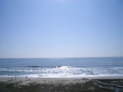 Kure Beach townhome rental - Wouldn't you love to wake up to this view?