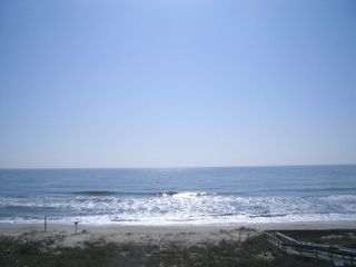 Kure Beach townhome photo - Wouldn't you love to wake up to this view?
