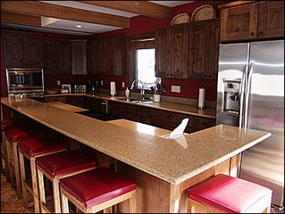 Snowmass Village house photo - Newly remodeled Kitchen with Stainless appliances