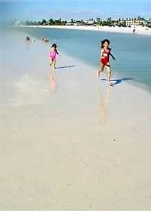 Sandbar for shelling or playing