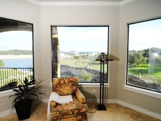 Lago Vista house photo - Master Bedroom overlooking Lake Travis