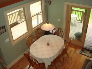 Ossipee Lake cottage photo - Dining area