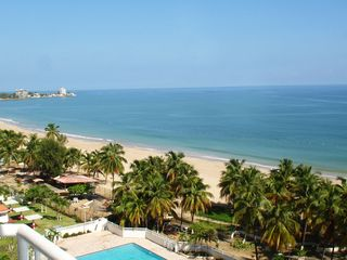 Isla Verde condo photo - Stunning beach view from balcony