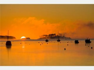 Lunenburg cottage photo - Sunrise in Harbor