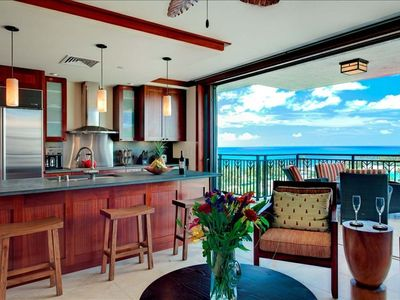 True luxury Penthouse Beach Villa on the oceanfront Beach Tower in KoOlina