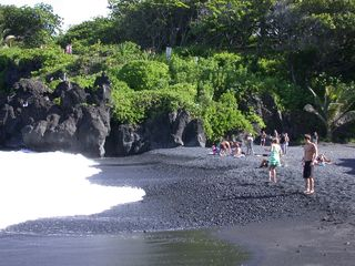 Honokowai condo photo - Black Sand Beach
