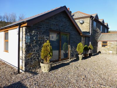 Felgaws Den, a high quality single story ground floor stone cottage.