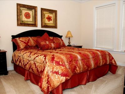 Master Bedroom with King Bed or Two Twins Upon Request