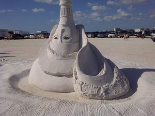Lets make something in the sand - Indian Rocks Beach condo vacation rental photo