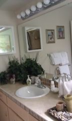 Palm Coast house photo - Guest Powder Room Vanity