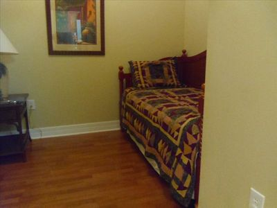 2nd bedroom has a day bed (can be used as one bed or as two separate twin beds)