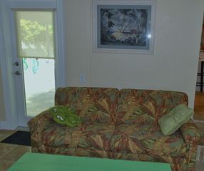Key West house photo - third bedroom/den with full sleeper sofa