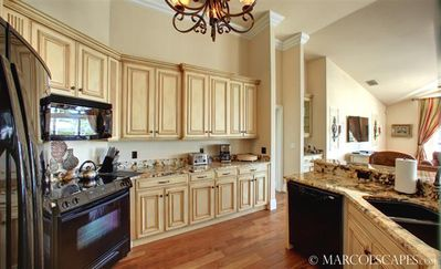 Vacation Homes in Marco Island house rental - A Gourmet Kitchen Fit for a King and Queen ...