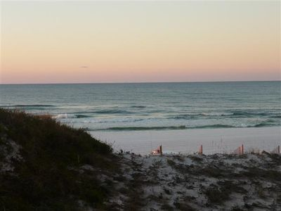 Miramar Beach condo rental - A peek over the dunes