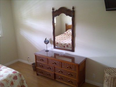 All new grade 'A' furniture with TV in bedroom