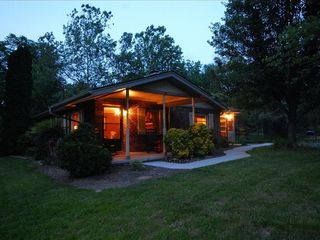 Asheville cottage photo - listen to rustling leaves-chirping crickets & more