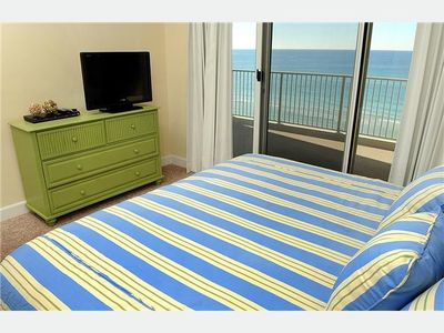 Ocean Reef condo rental - Master Bedroom With Incredible Views