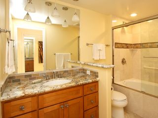 Lahaina condo photo - The Private Master Bath features a Whirlpool Tub.