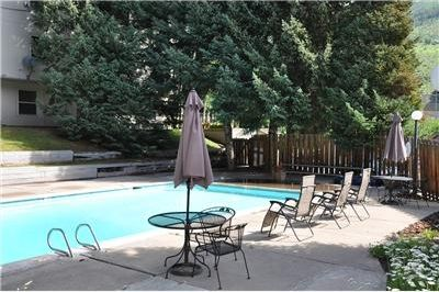 The pool is right outside our door. Kids will LOVE it!
