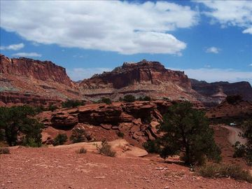 Capitol Reef National Park is only 38 miles away.