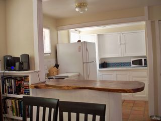 Bisbee house photo - View of kitchen from dining area. See the mesquite counter?