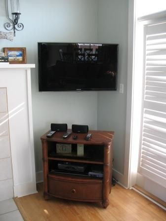 Upgraded flat screen electronics in every room!