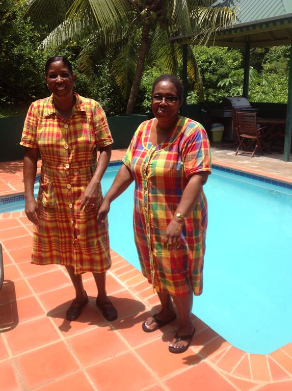 Our dedicated housekeepers: Josephine & Carmina.