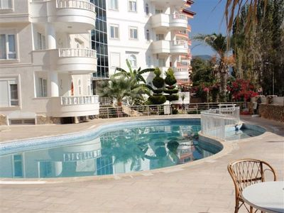 Lovely spacious apartment located in the lush area and only 400 m to the beach