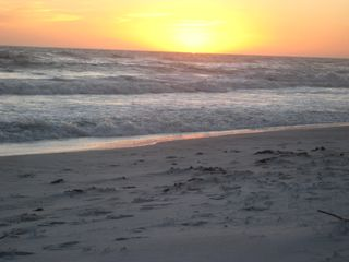 Caribbean Dunes condo photo - Sunset at the beach courtesy Breath of Heaven Destin