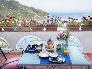 Ravello villa photo - terrace 2