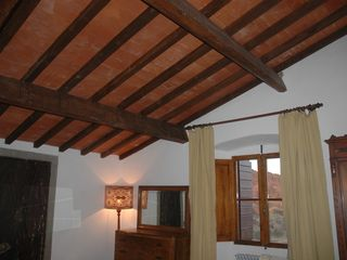 Fiesole villa photo - Caterina bedroom's oak beamed cieling