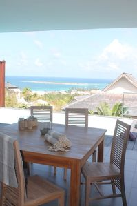 Full equipped villa in Orient Beach resort