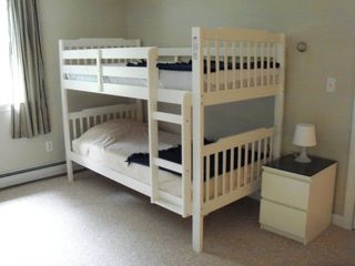 East Falmouth house photo - Bunk beds in bedroom three - also has two twin beds in this bedroom.