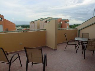 Cabo Rojo apartment photo - Seating area at open terrace with beautiful view