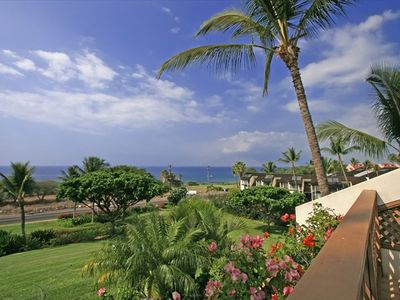 The view of the ocean from our lanai.