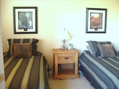 St. George townhome rental - 2nd bedroom with private bath and Upper Deck access